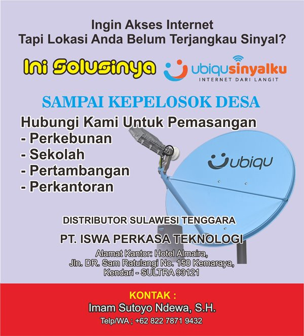 Iklan Ubiqu Sinyalku-JaringPos