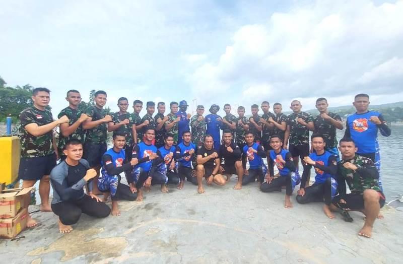Latihan SAR Gabungan Yonif 725 Woroagi 2-JaringPos