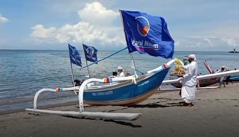 upacara melaspas dan peresmian perahu pembuangan abu untuk Segera Yadnya-JaringPos