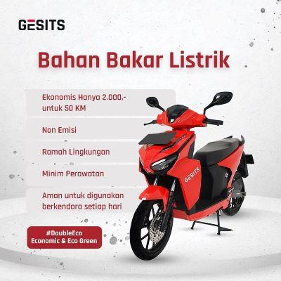 Iklan Motor Listrik Gesits-JaringPos