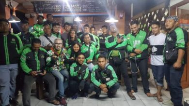 Komunitas Ojol Bugs Family Denpasar-JaringPos