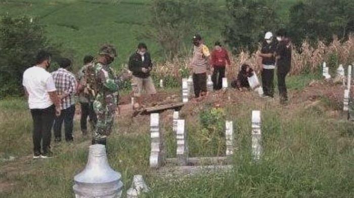 Pelaku Pembongkaran 7 Makam Jenazah Covid 19 di Parepare-JaringPos