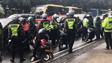 Razia Knalpot Bising di Jakarta-JaringPos