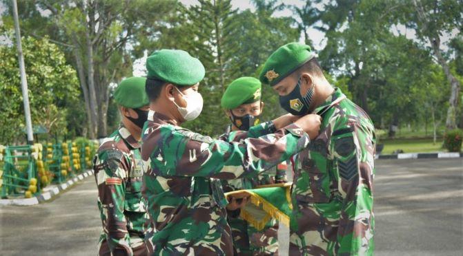 Tradisi Pindah Satuan Yonif 725 Woroagi-JaringPos