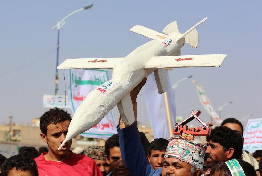 kamikaze Drone Milisi Houthi-JaringPos