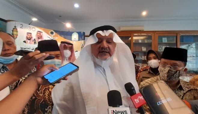 Duta Arab Saudi untuk Indonesia Esam Abid Altaghfi-JaringPos