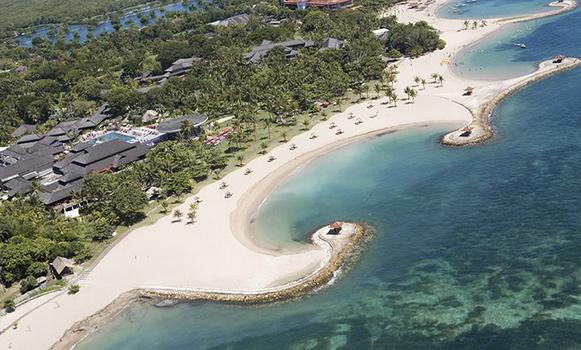 Pantai Nusa Dua, Bali.