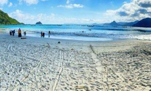 Tempat wisata Pantai Selong Belanak, Desa Selong Belanak, Kecamatan Praya Barat.
